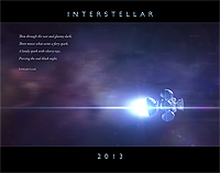 Interstellar 2013 Calendar