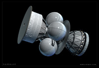 The Daedalus Starship - 2nd Stage.